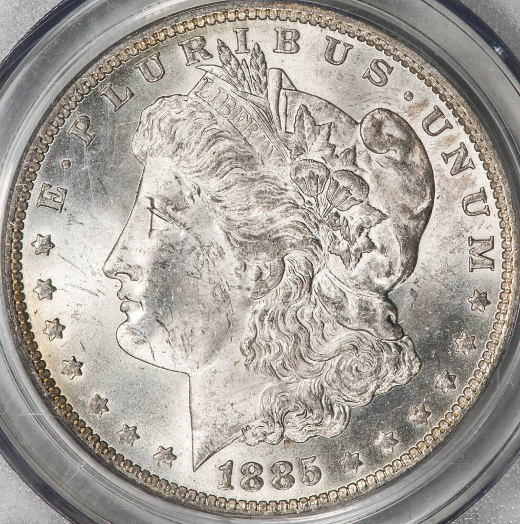 1885 O PCGS MS62 Morgan Silver Dollar