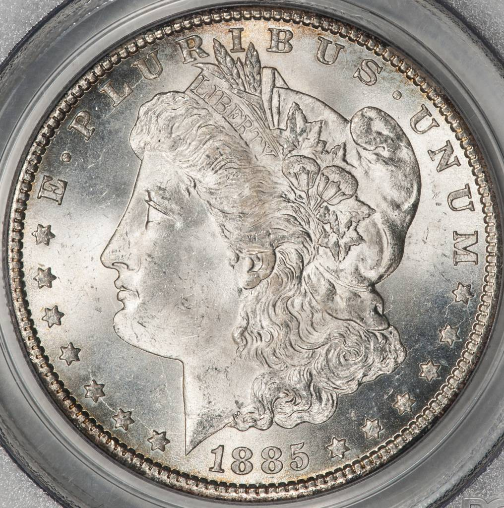 1885-CC PCGS MS64 Morgan Silver Dollar