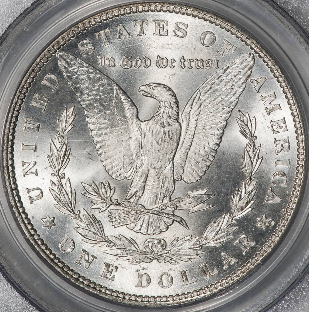1886 PCGS MS66 Morgan Silver Dollar