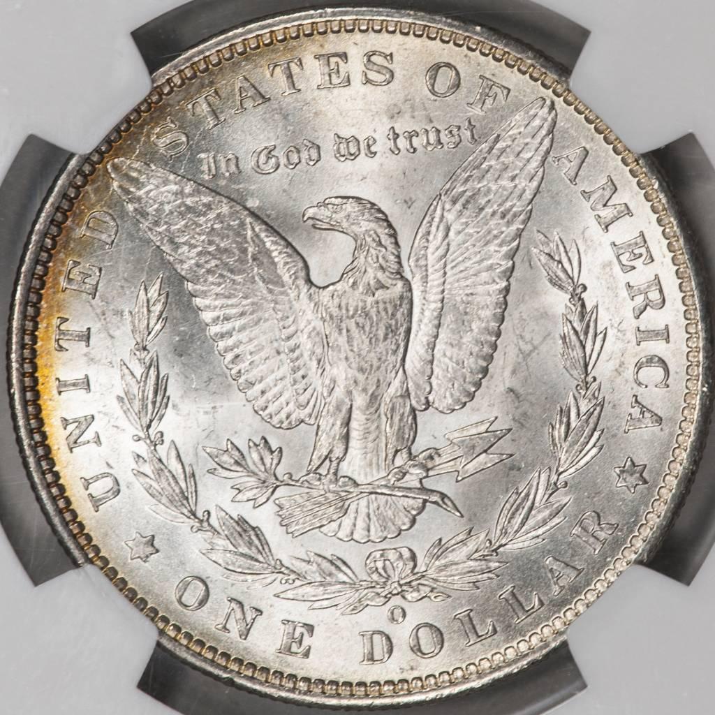 1888 O NGC MS63 Morgan Silver Dollar