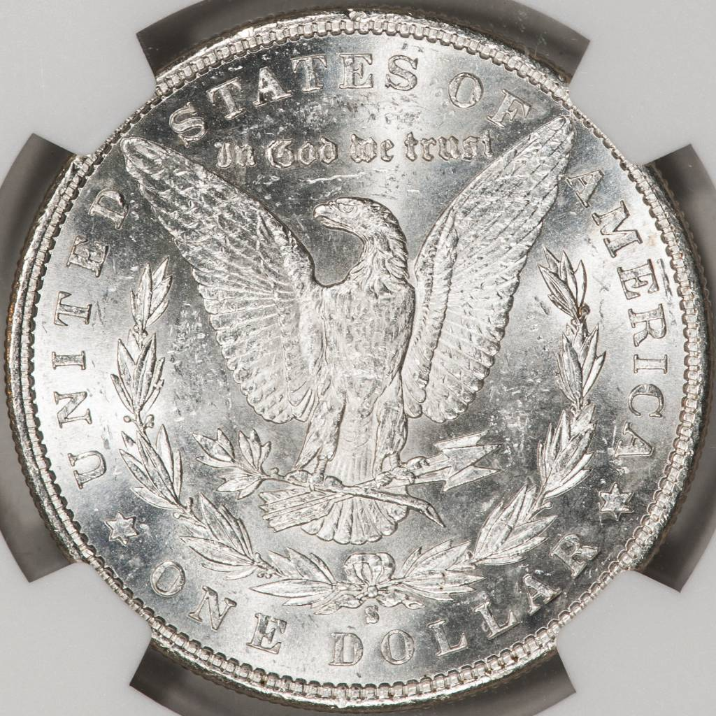 1890-S NGC MS63 Morgan Silver Dollar