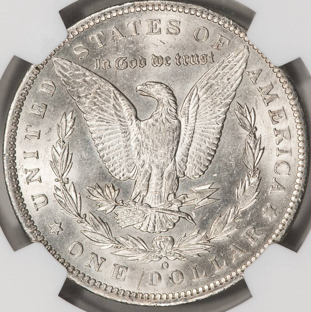 1890-O NGC MS61 Morgan Silver Dollar