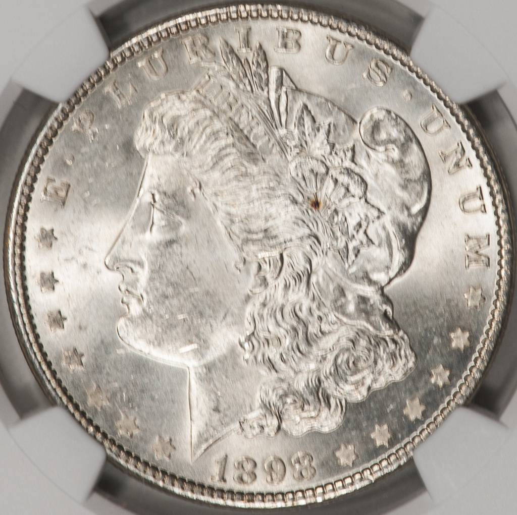 1898 NGC MS63 Morgan Silver Dollar