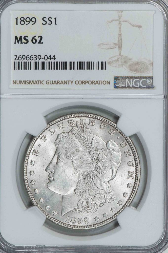 1899 NGC MS62 Morgan Silver Dollar