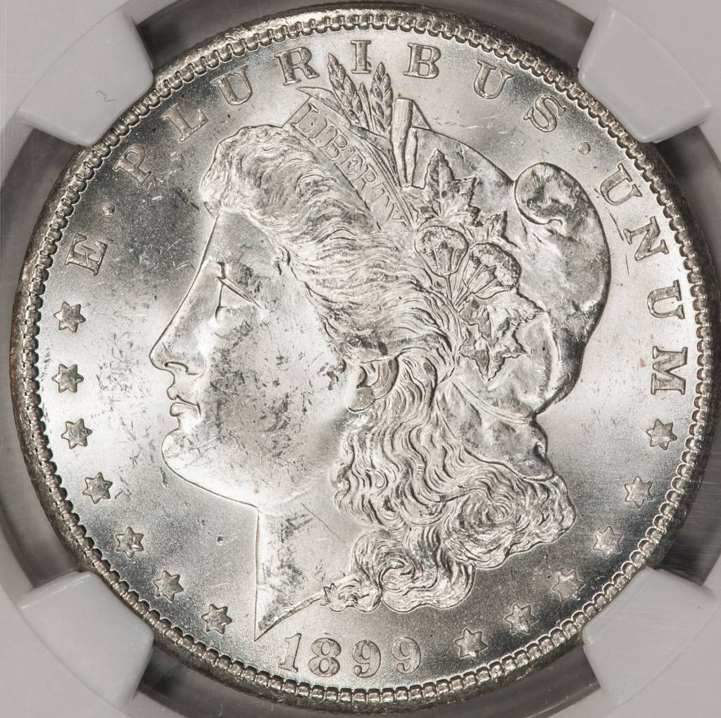 1899 O NGC MS63 Morgan Silver Dollar