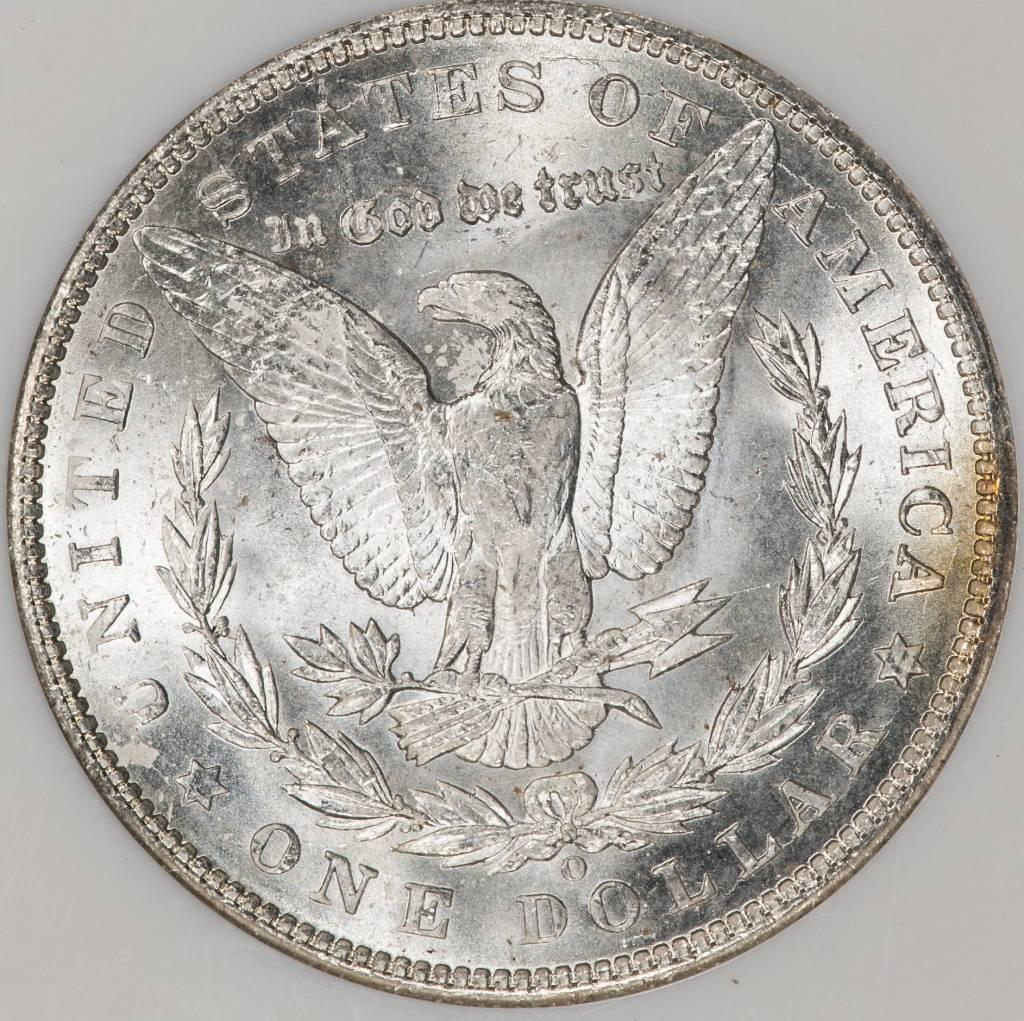 1904 O NGC MS64 Morgan Silver Dollar