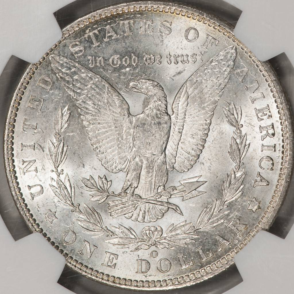 1094-O NGC MS64 MORGAN DOLLAR