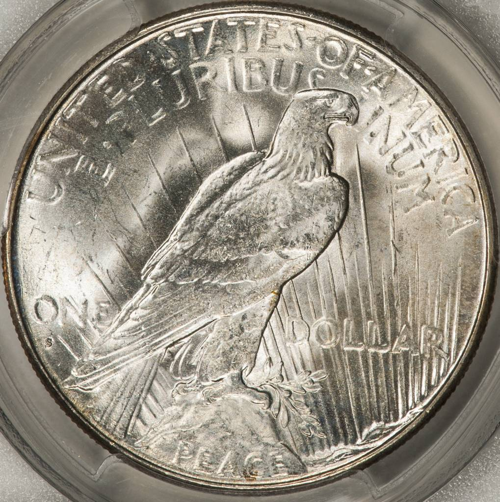 1928-S PCGS MS63 Peace Silver Dollar