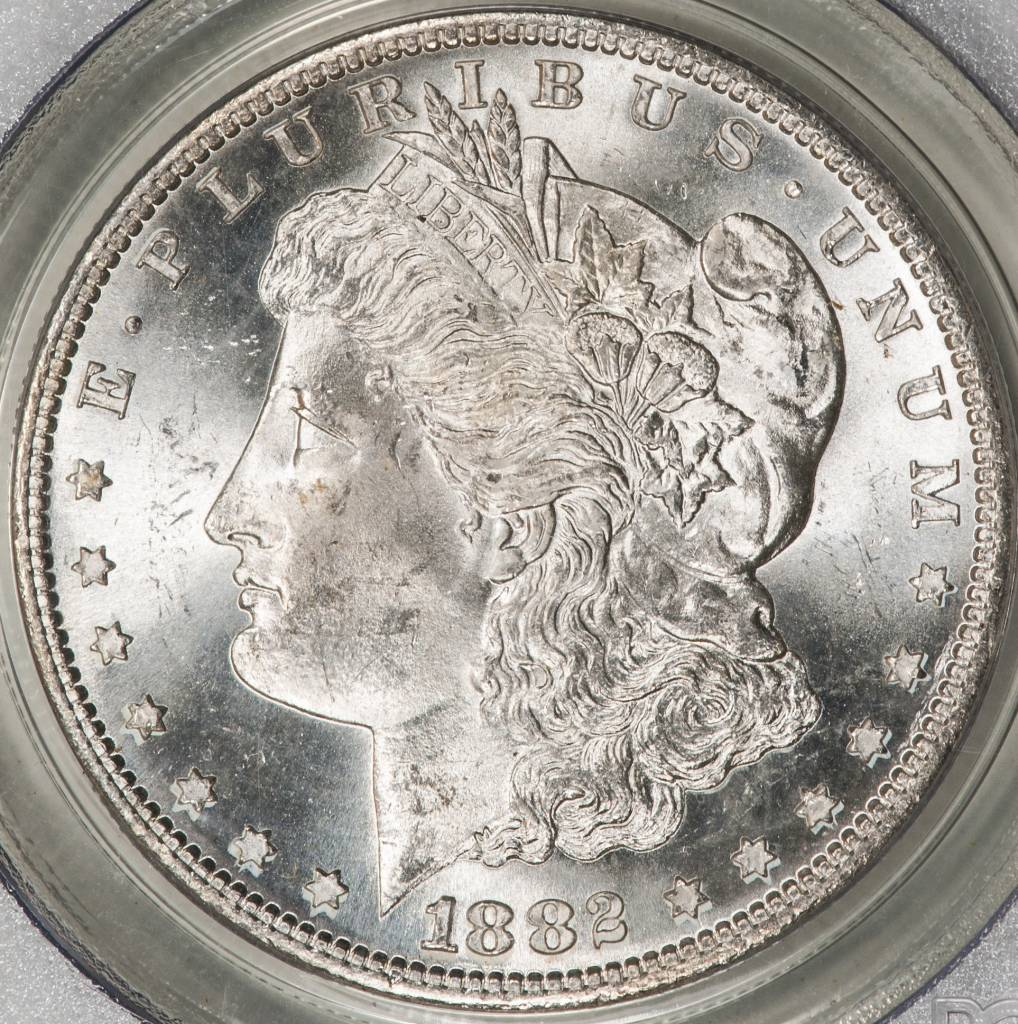 1882 S PCGS MS64 Morgan Silver Dollar