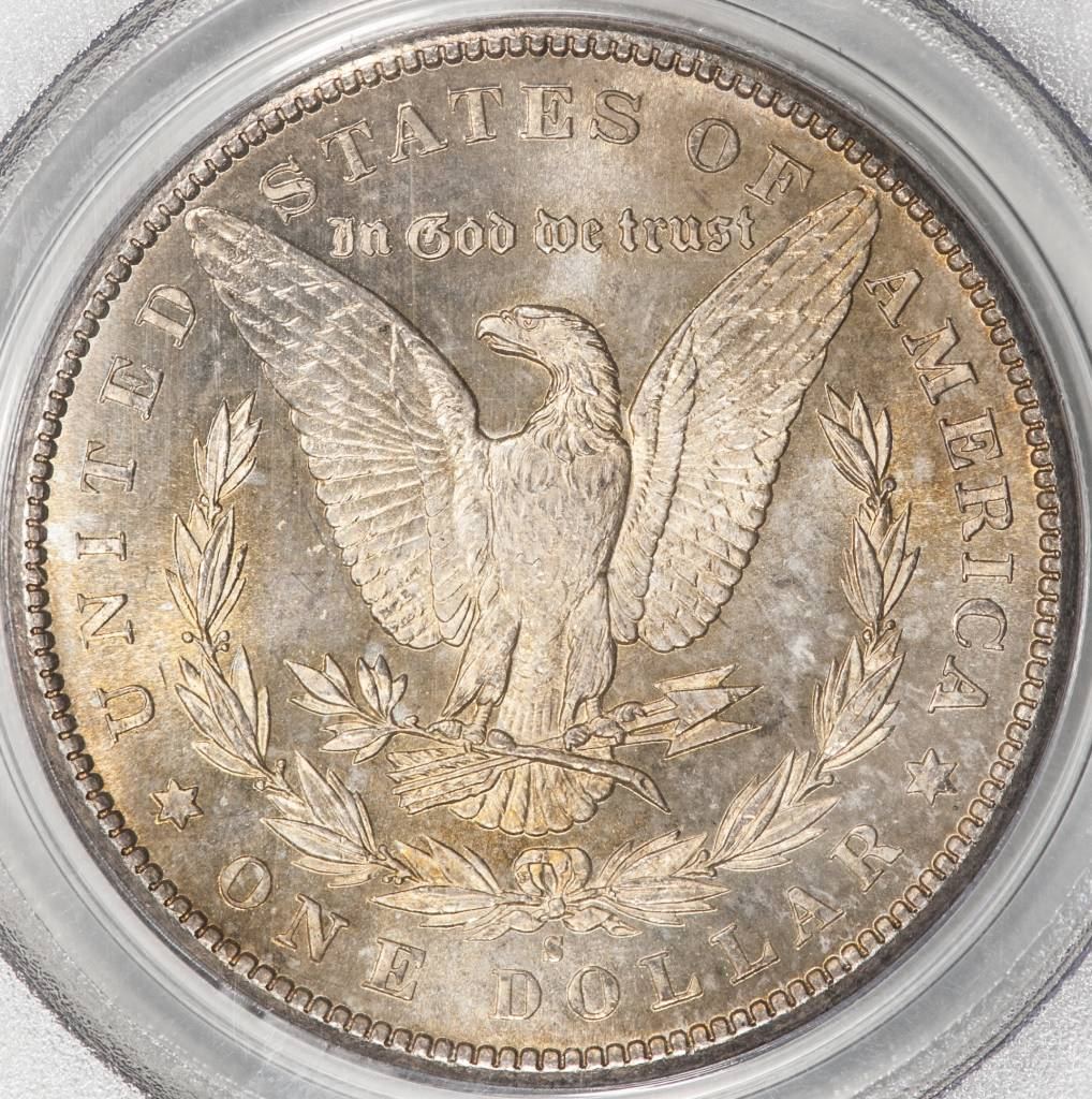 1881 S PCGS MS64 Morgan Silver Dollar