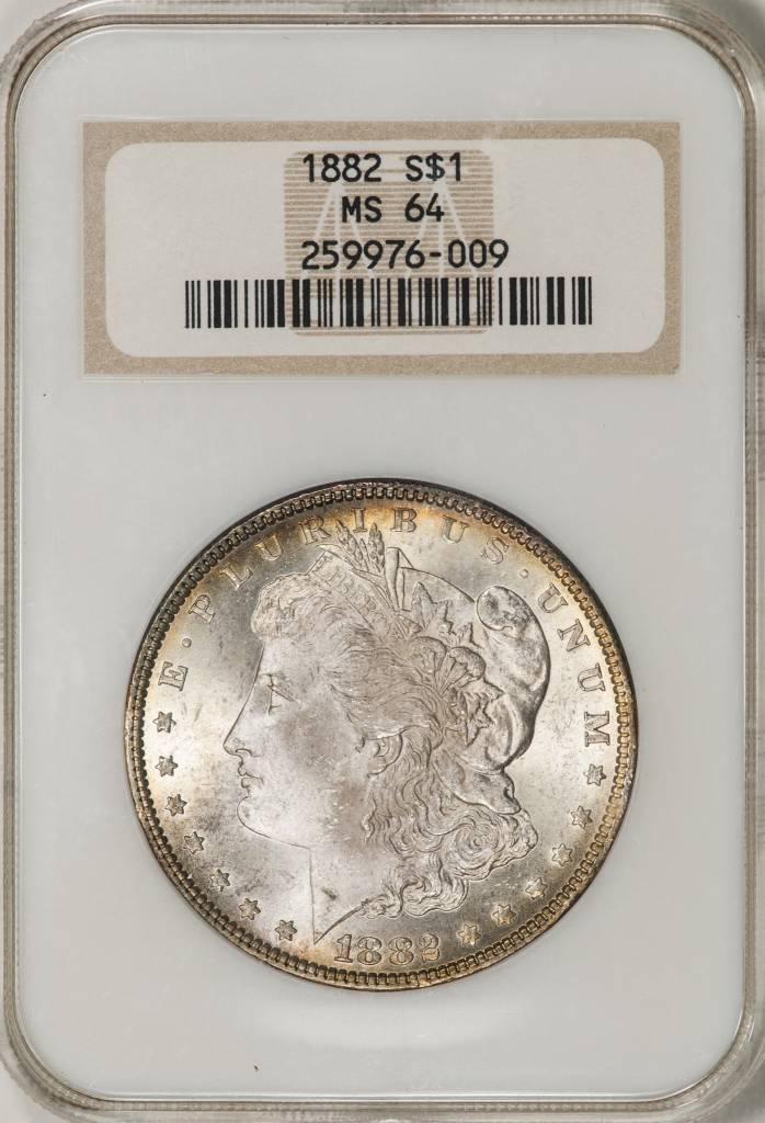 1882 NGC MS64 Morgan Silver Dollar