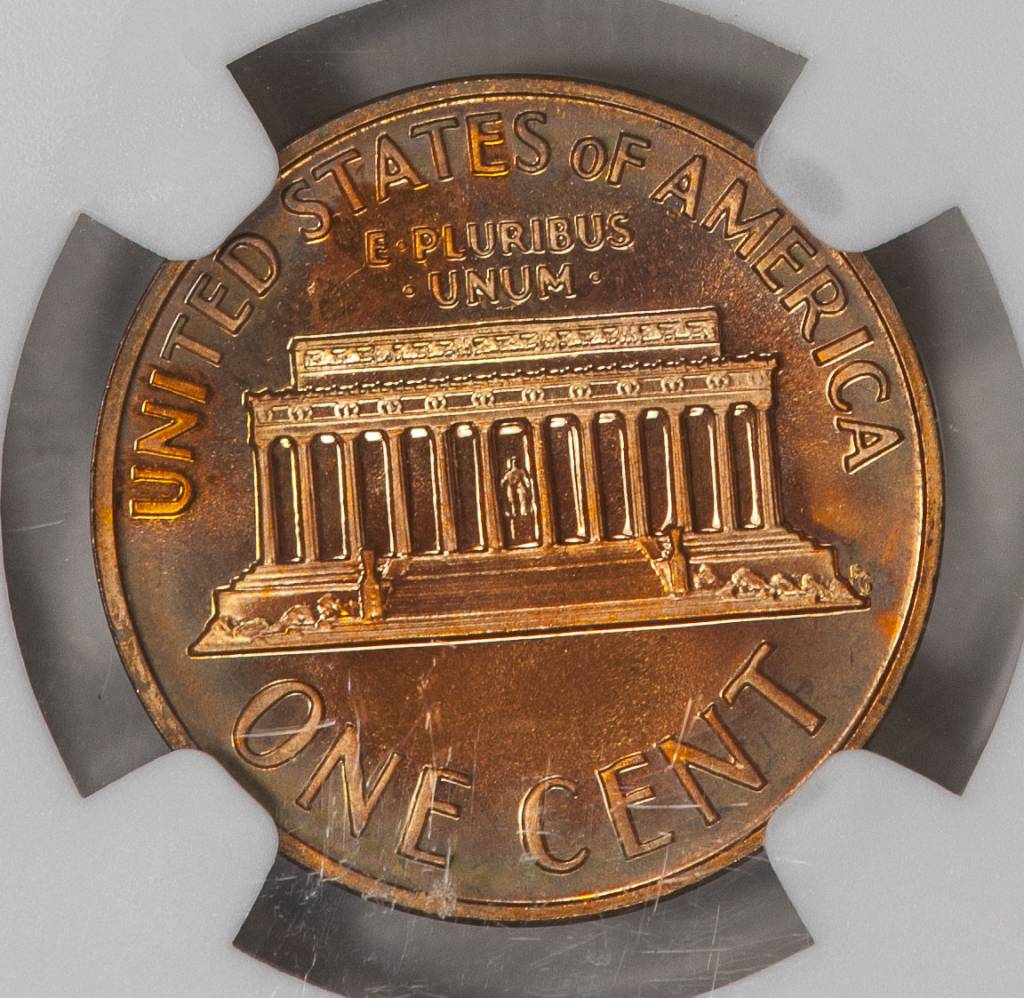 1970 S Small Date NGC PF67 RB Lincoln Cent