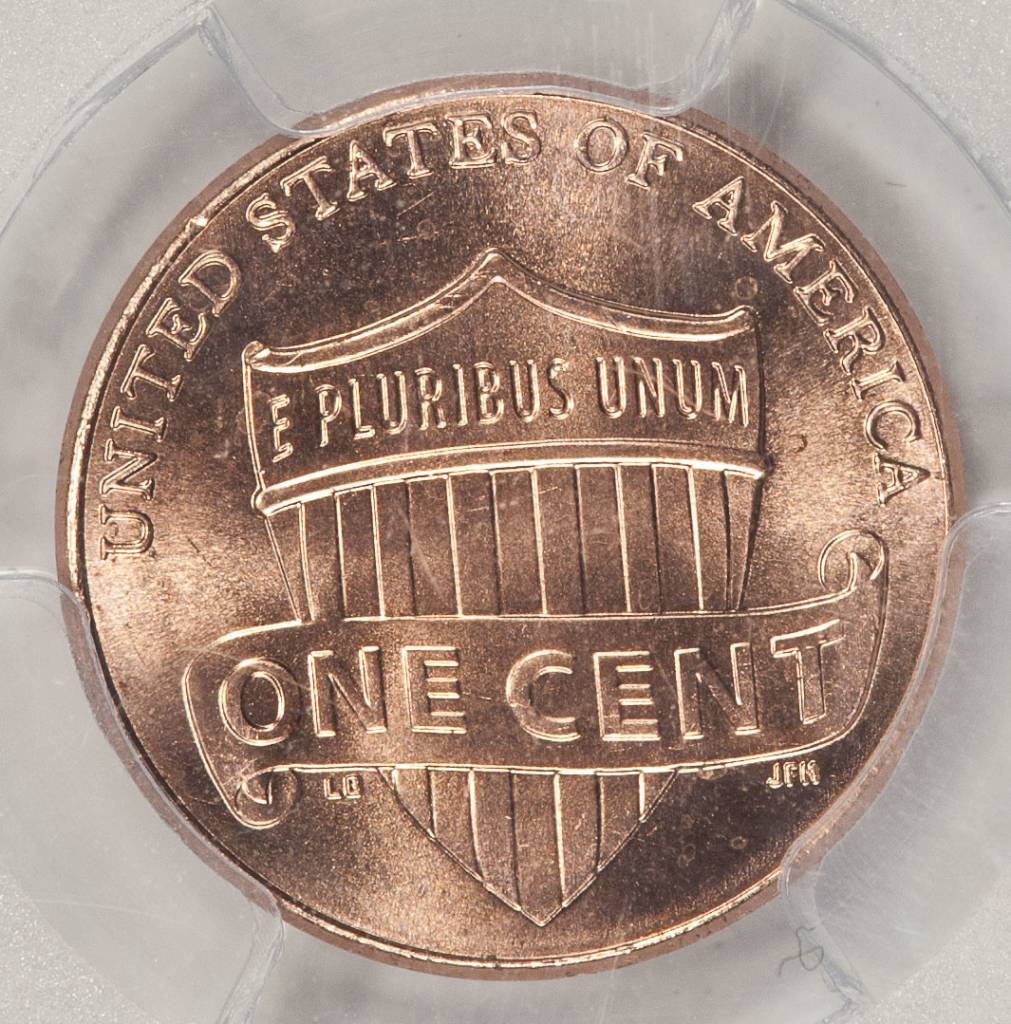 2015 D PCGS SAMPLE Shield Lincoln Cent