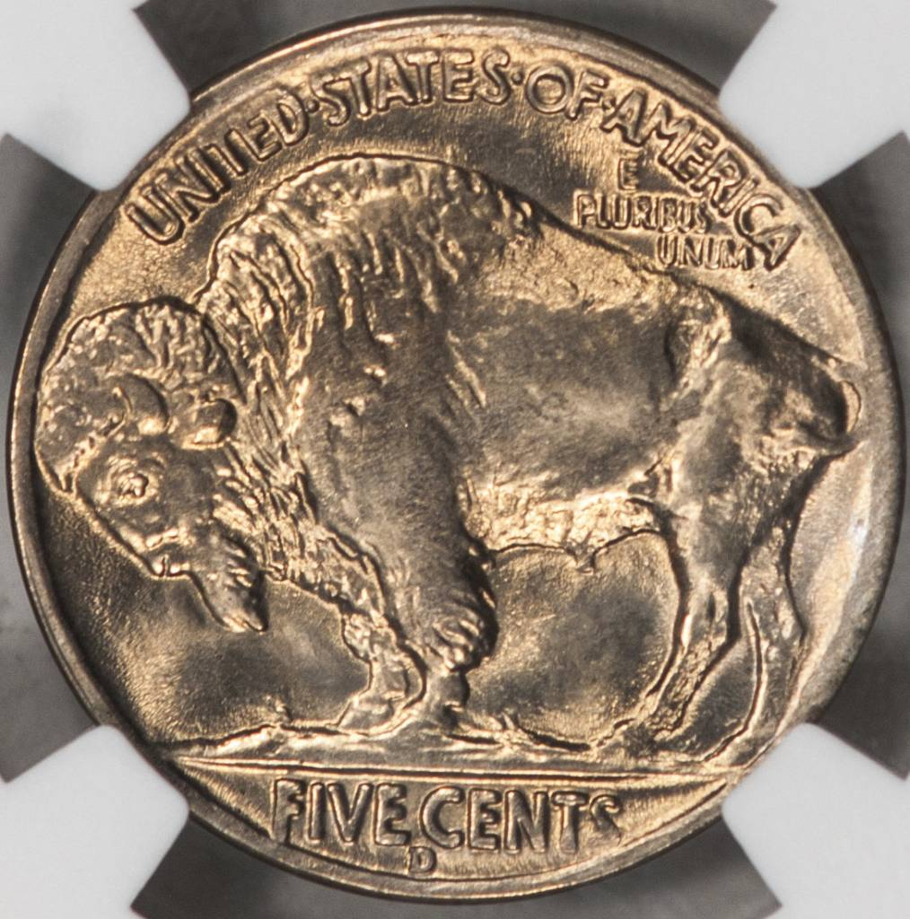 1938 D NGC MS66 Buffalo Nickel