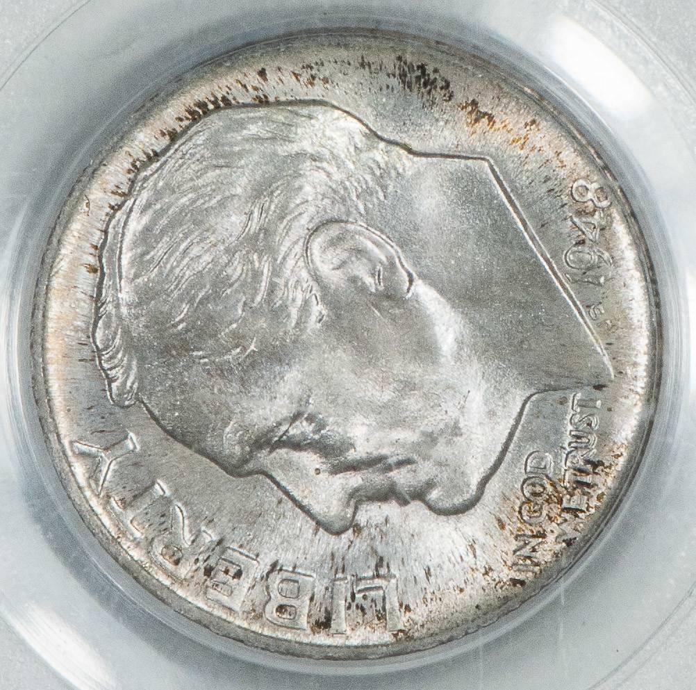 1948-D PCGS MS67 FB Roosevelt Dime