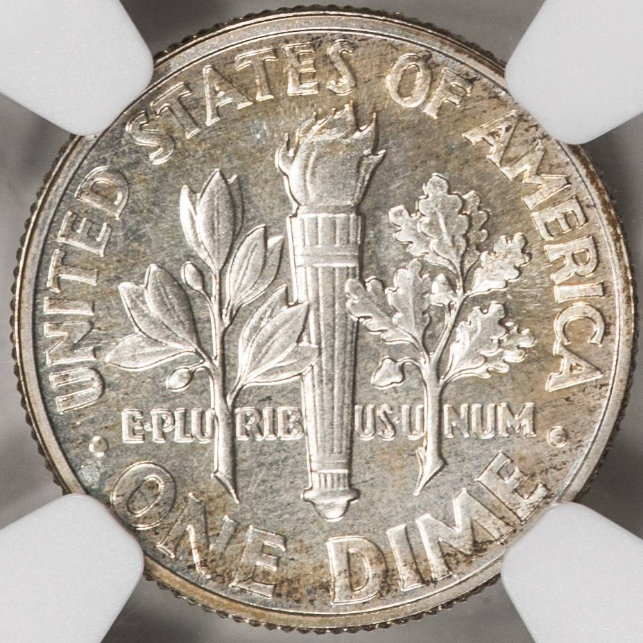 1960 NGC PF66 Roosevelt Dime