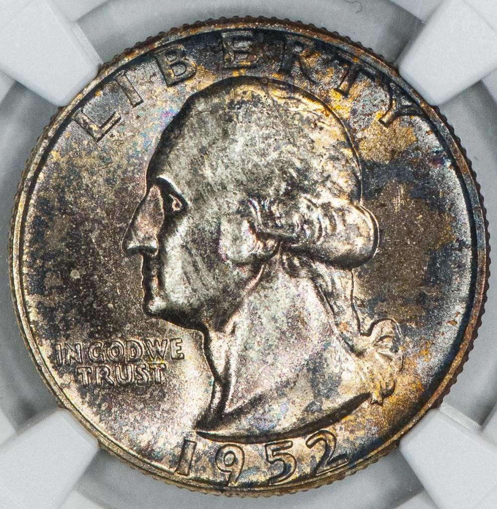 1952 NGC MS66 Washington Quarter