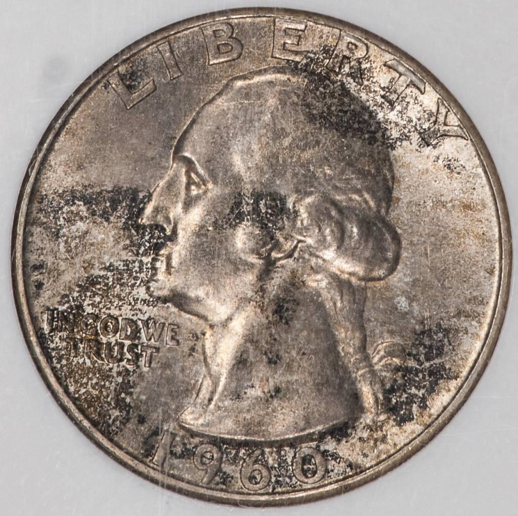 1960 NGC MS66 Washington Quarter