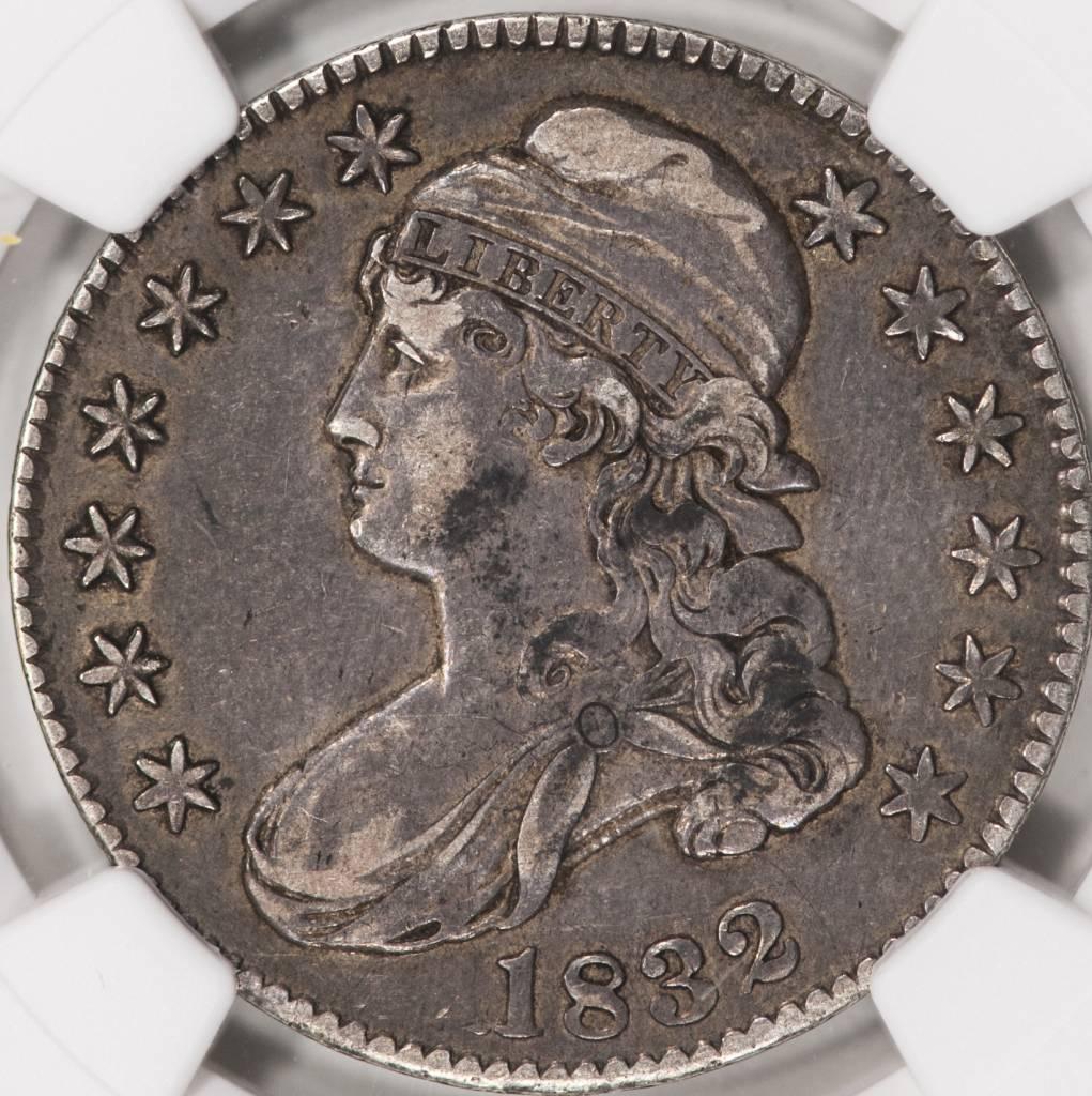 1832 NGC VF35 Bust Half Dollar