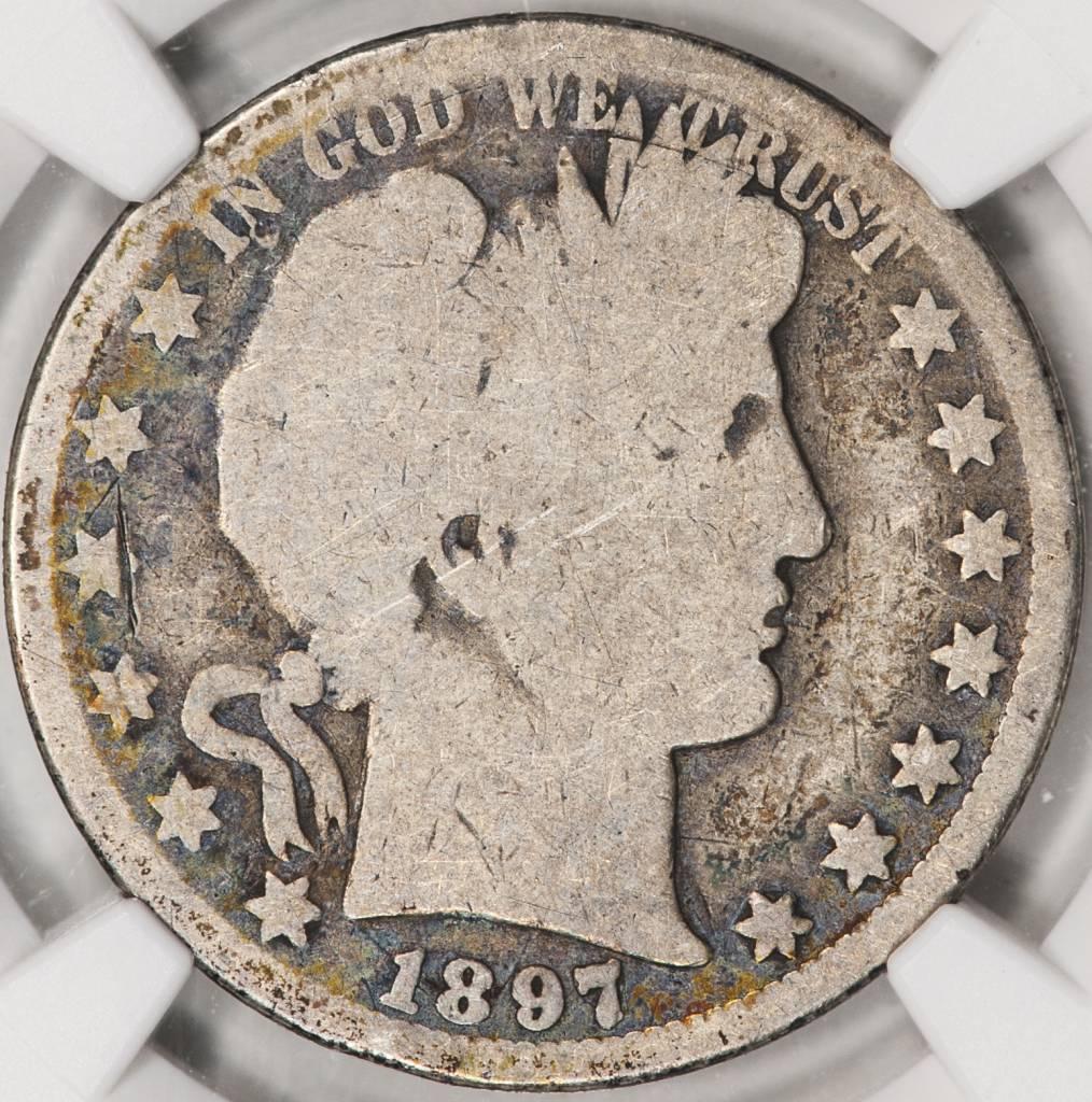 1897 O NGC AG3 Barber Half Dollar