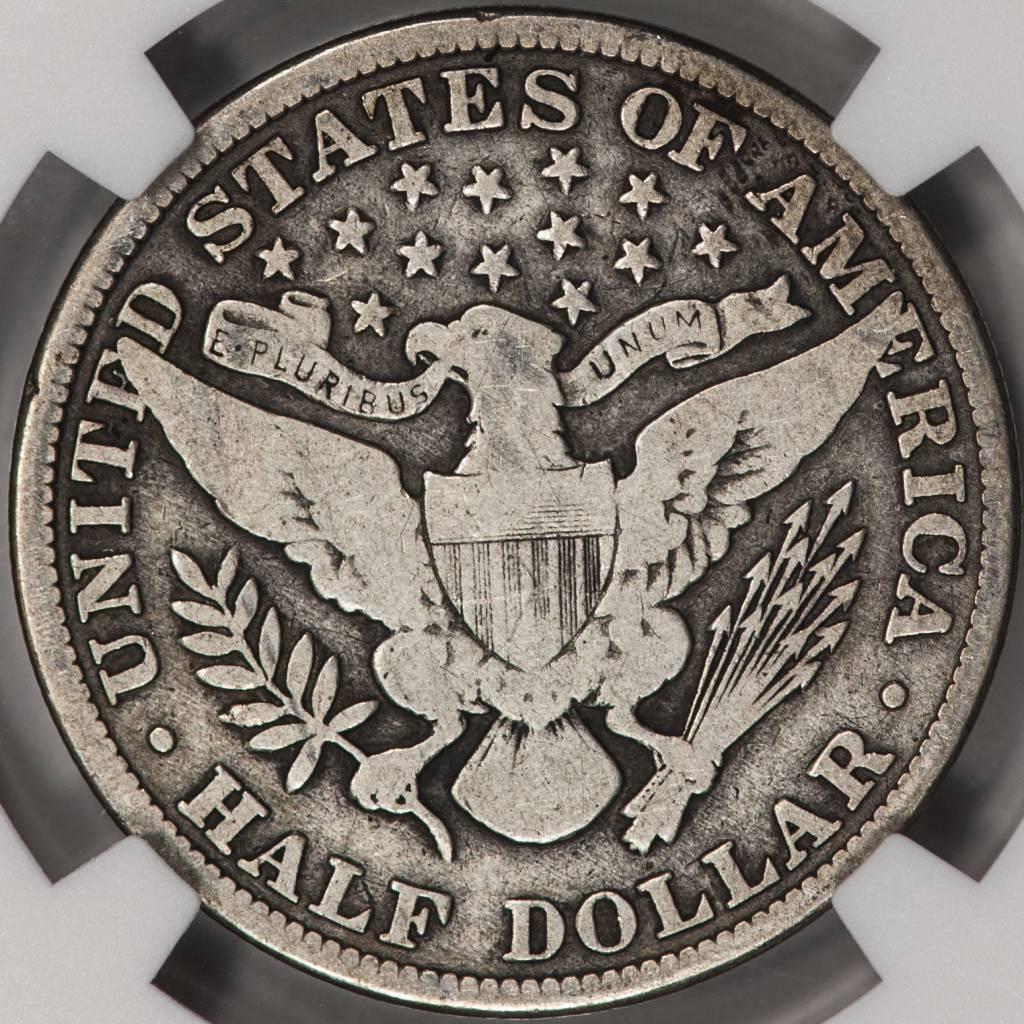1913 NGC VG8 Barber Half Dollar