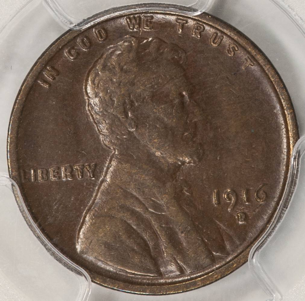 1916 D PCGS XF45 Lincoln Cent