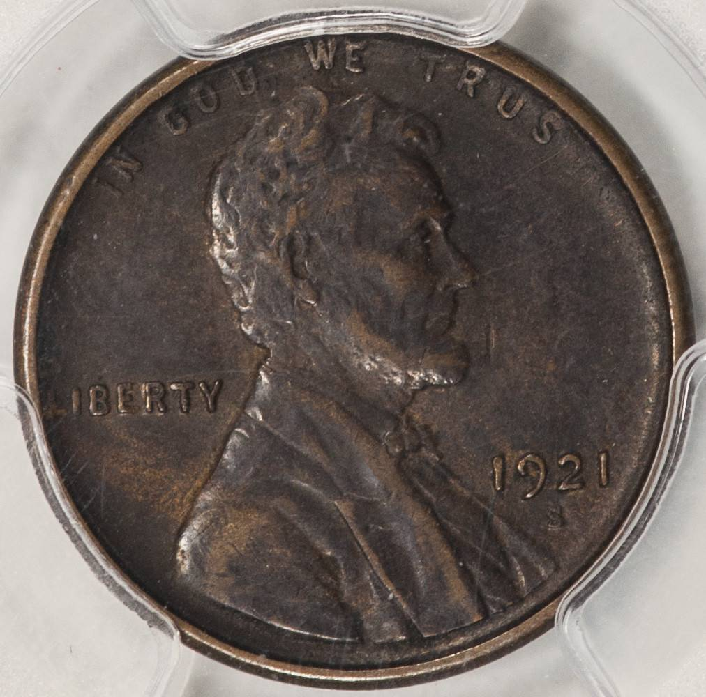 1921 S PCGS XF45 Lincoln Cent