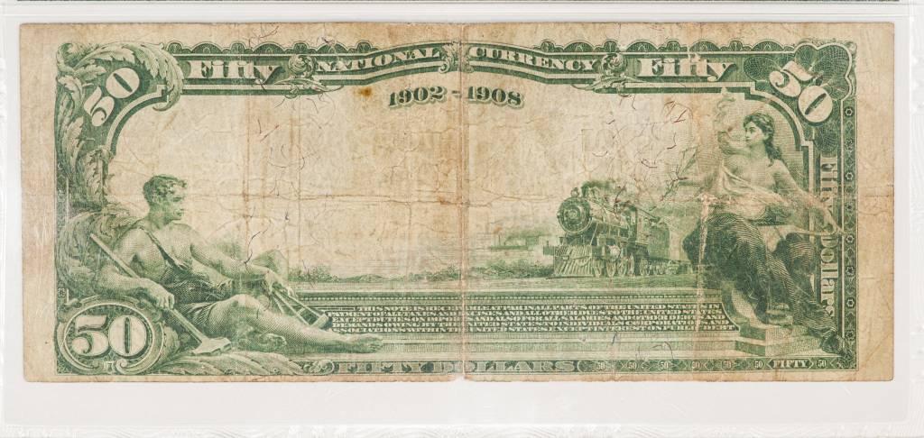 1902 PMG Net VF20 Salt Lake City National Copper Bank CH#9652 Fr#669