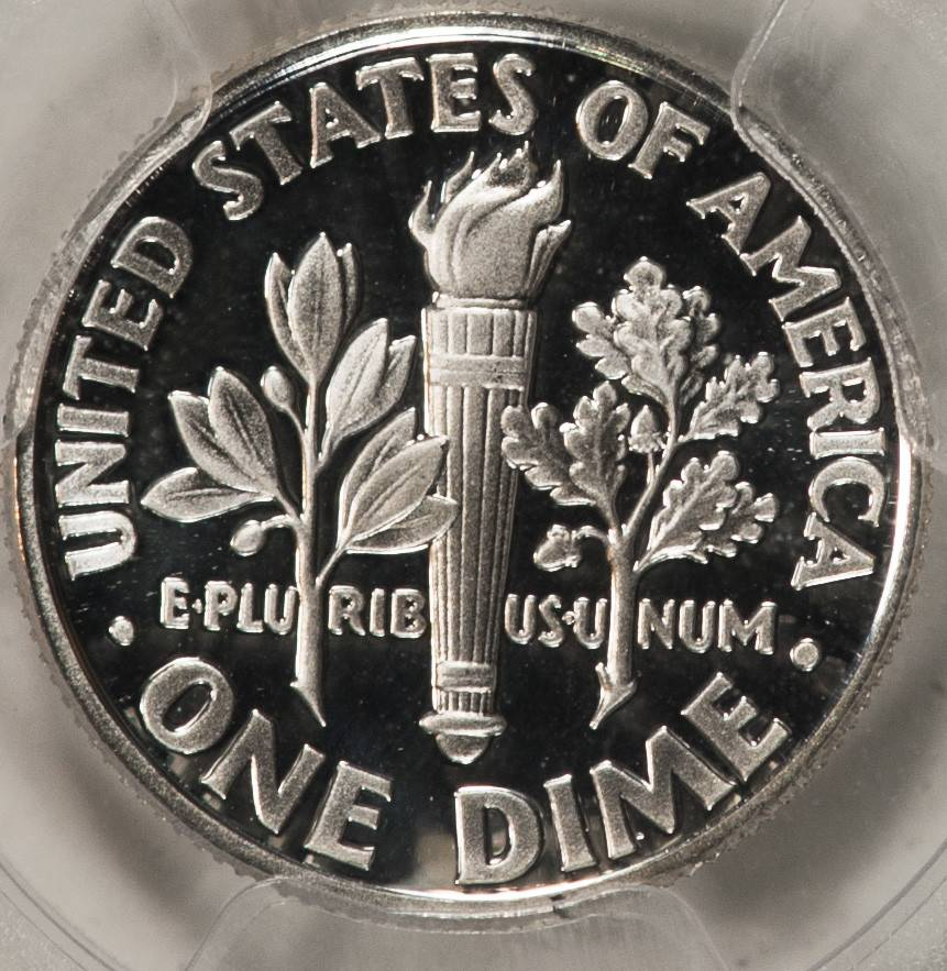 1996 S PCGS PR69DCAM Silver Roosevelt Dime