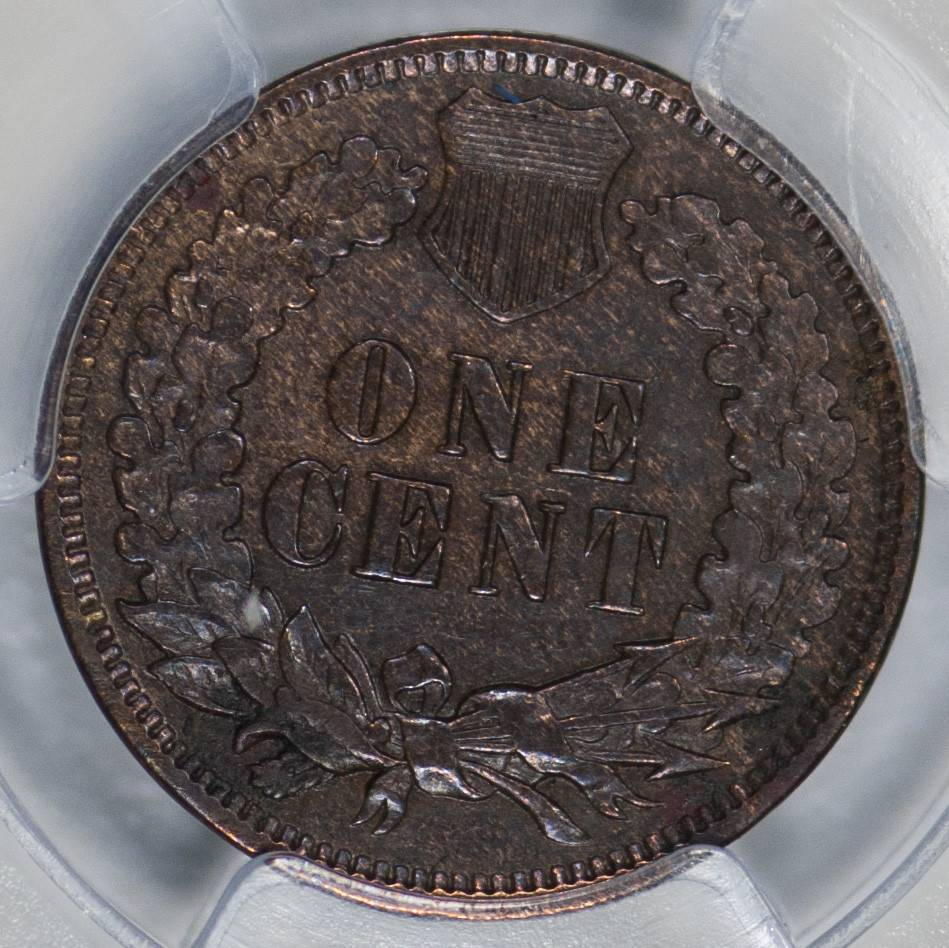 1874 PCGS XF45 Indian Head Cent