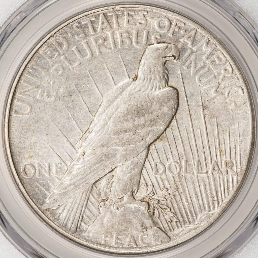 1928 PCGS XF45 Peace Silver Dollar