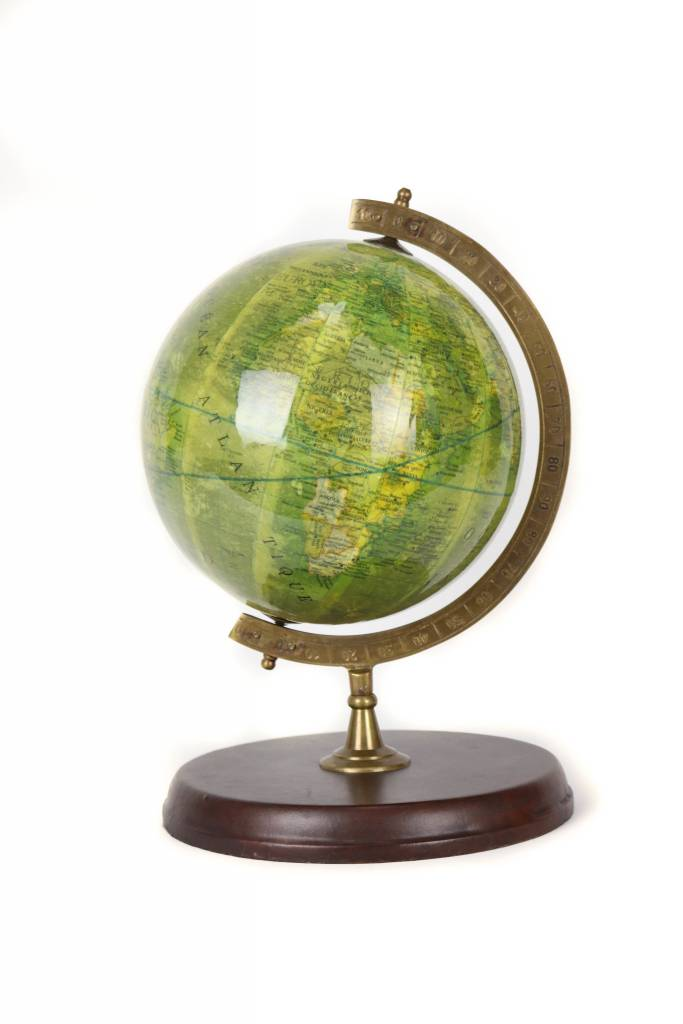 Globe w Leather
