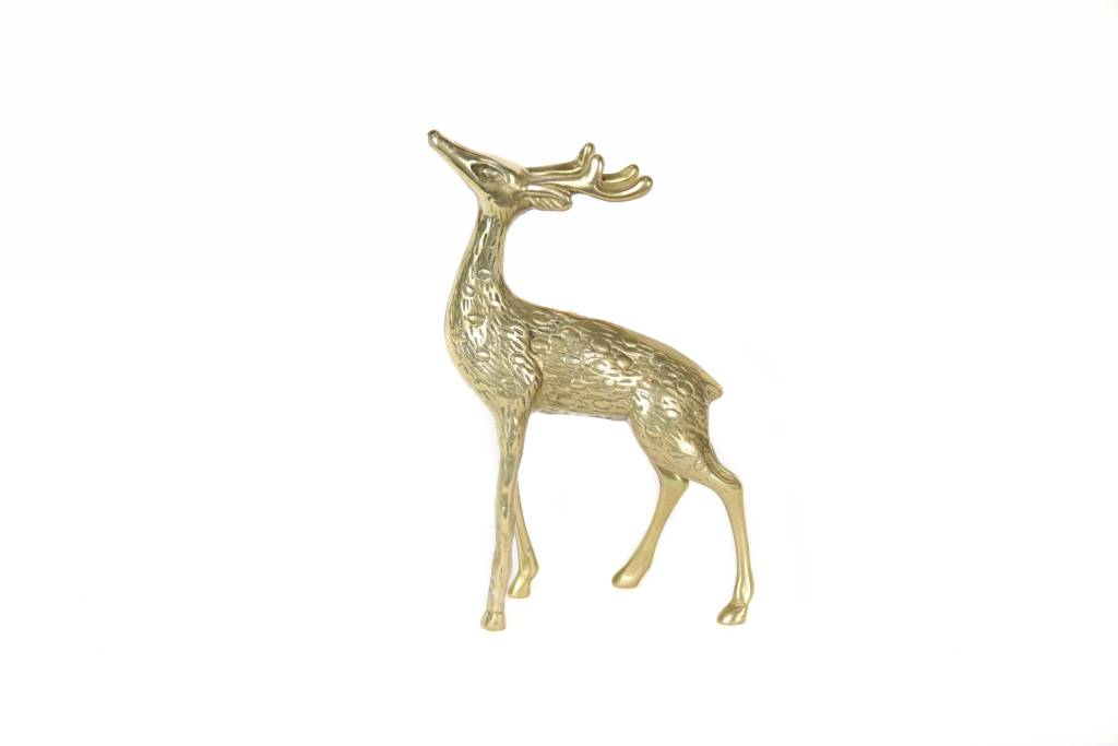 Antiques Brass Stag