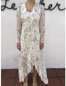 Ministry of Style Romantic Maxi Wrap Dress