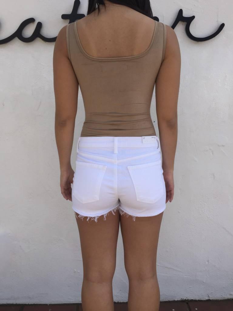Delacy Suede Bodysuit