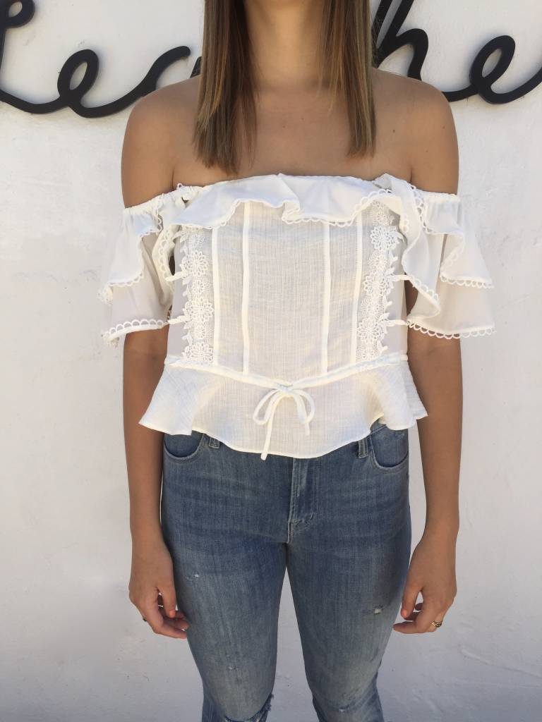 For love and Lemons Crema Silk
