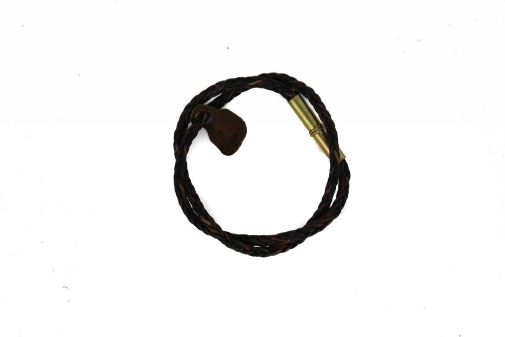 Tres Cuervos Braided Bracelet Dark
