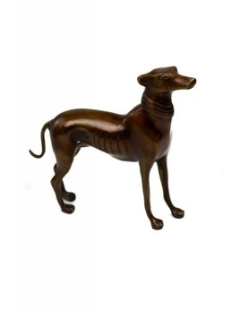 Antiques Bronze dog