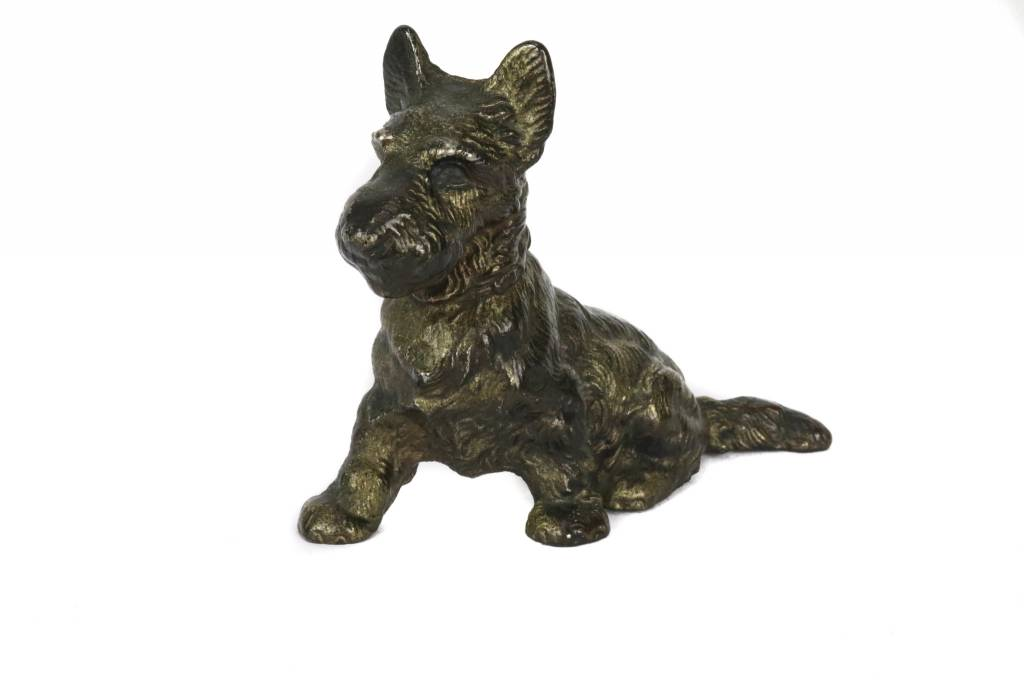 Antiques Scottie Door Stop