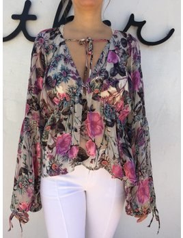For love and Lemons Cadence Blouse