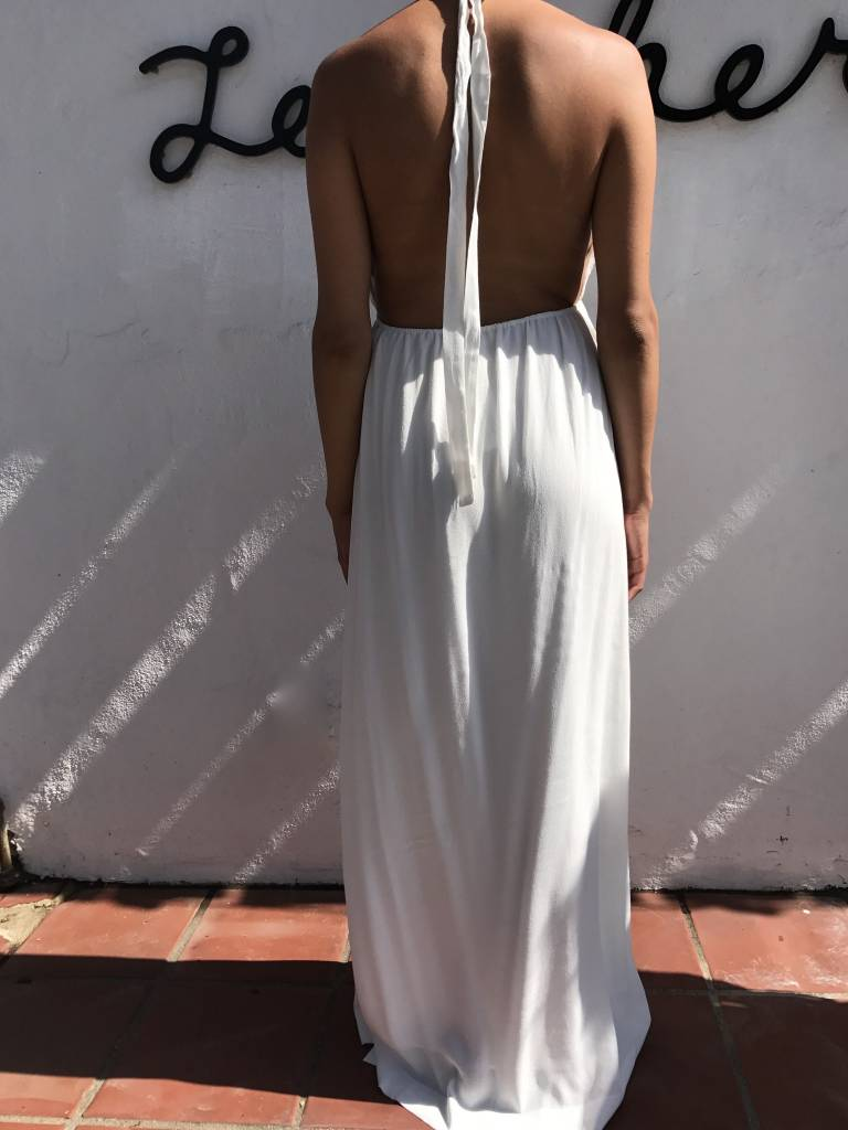 For love and Lemons Halter Maxi Dress