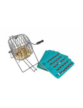 Antiques Bingo Cage Tumbler + Cards