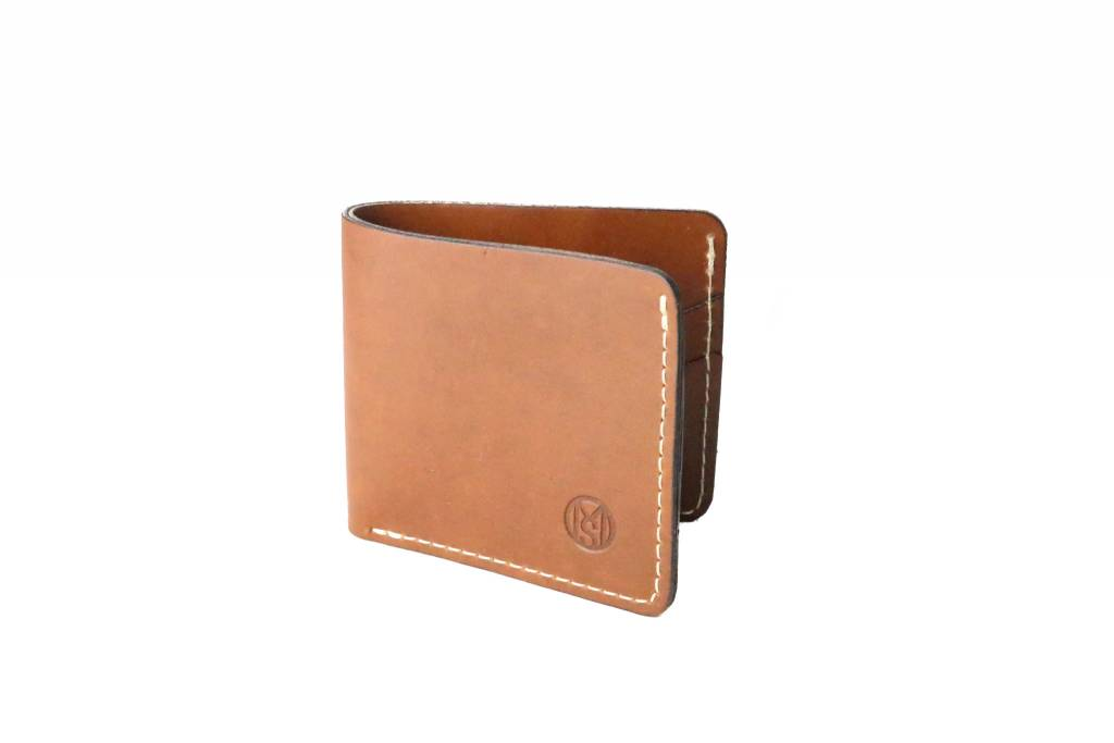Bill Fold Wallet-Saddle Tan
