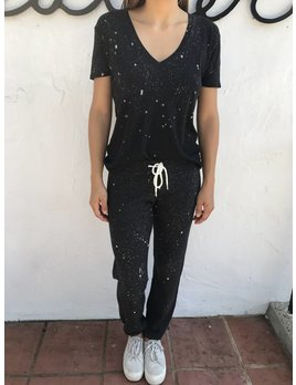 Monrow Shirt with Splatter