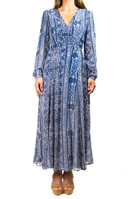 Chan Luu Georgette Dress