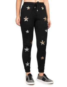 Zoe Karssen Sequins Stars Sweatpants