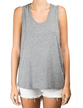 Stillwater Heather Scoop Tank