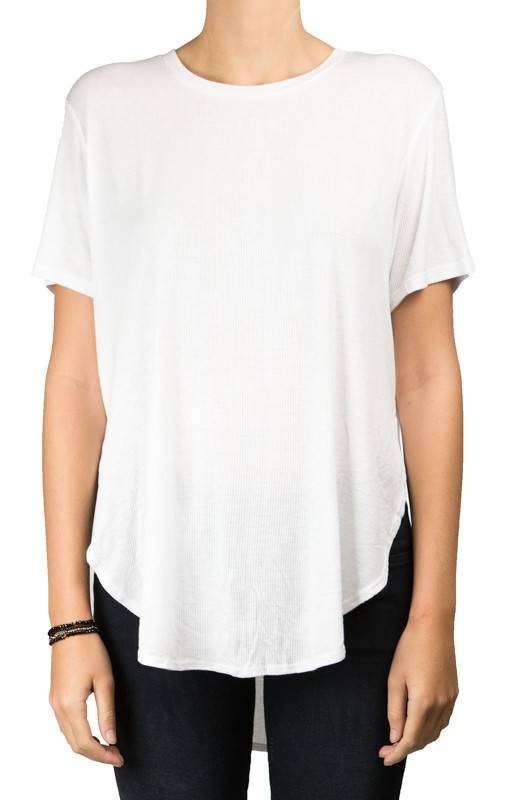 Joah Brown OS White Live in Tee