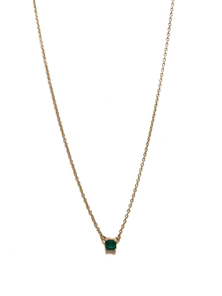 naked product ele necklace drop emerald keats
