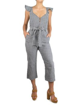 For love and Lemons Gingham Jumpsuit
